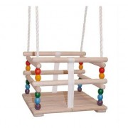 Merkloos Speelgoed schommel hout