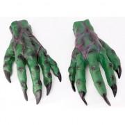 Merkloos Groene griezel handen
