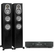Pachete PROMO STEREO - Monitor Audio - Silver 300 + Hegel H90 Walnut