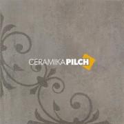 Pilch Cemento grafit 2B dekor podłogowy 59,6x59,6 __DARMOWA DOSTAWA OD 1600zł__