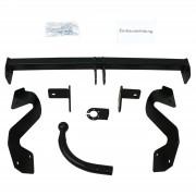 Rameder Attelage col de cygne AUTO-HAK + faisceau universel 13 broches + adaptateur - PEUGEOT PARTNER Camionnette