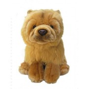 Faithful Friends Plush Dog Chow Chow Collectible Dog 30cm Soft Cute Stuffed Animal Pet