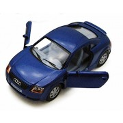 Audi TT Coupe, Blue - Kinsmart 5016D - 1/32 scale Diecast Model Toy Car