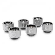 Pachet 6 bucati fitinguri compresie EK Water Blocks EK-ACF 16/10mm Nickel