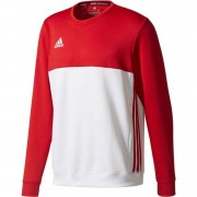 adidas T16 'Offcourt' Crew Sweater Heren - rood - Size: 2X-Large