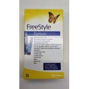 Abbott Freestyle Optium Test Strips25