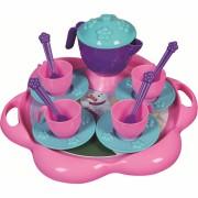 Set de ceai cu tavita Ice World Ucar Toys UC124, 16 piese