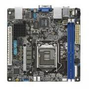 Дънна платка ASUS P10S-I LGA1151, Intel C232 Chipset, Mini-ITX, Aspeed AST2400 with 32MB VRAM, ASUS P10S-I LGA1151