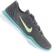Nike Tênis Nike Flex Supreme TR 5 - Feminino - Cinza/Verde Cla