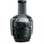 Philips Avance Collection Сокоизстисквачка QuickClean 1000 W XXL улей за подаване, Технология FiberBoost, цвят черен
