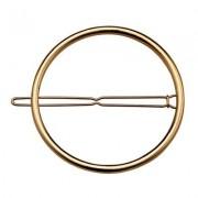 Lina - Circle Hairclip Gold XL