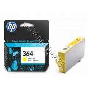Мастило HP 364, Yellow, p/n CB320EE - Оригинален HP консуматив - касета с мастило
