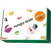Hungry brain VEGETABLE Flash card- Easy fun way of learning-1yr-6yr kids