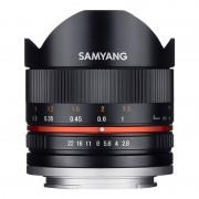 Samyang Objetiva Fisheye II 8mm F2.8 UMC para Fujifilm X