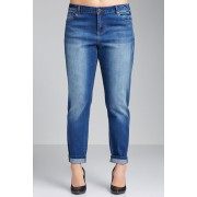 Womens Sara Boyfriend Jeans - Mid Wash Trousers