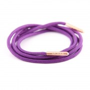 Bondi Laces Dress Laces Blackcurrant / Rose Gold Tips DRESPU3R