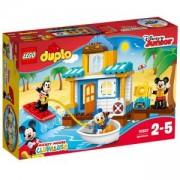 Конструктор Лего ДУПЛО - Плажната къща на Мики и приятели, LEGO DUPLO, 10827