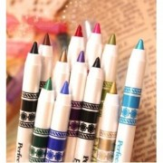 M.N ME Now Second Generation 12 PCS Multi Colours Eye Lip Liner Pencil FREE ADS Kajal