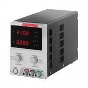 Fonte de alimentação de laboratório - 0-30 V - 0-5 A DC - cabo USB