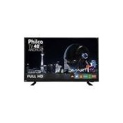 "Smart TV LED 40"" Philco PH40E60DSGWA Full HD 2 HDMI 2 USB"