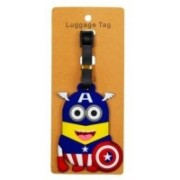 Funcart Captain America Luggage Tag(Multicolor)