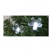 Dekoráció szett, virág, 50 db, 5 mm-es LED-re