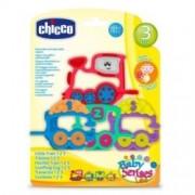 Chicco Linea Giochi Uditivi Manuali Happy Colors Trillino Treno 123 Età 3m+