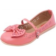 Footrendz Ethnic Bow Touch Bellies(Pink)