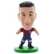 Figurina Soccerstarz Barca Toon Sergio Busquets 2014