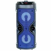 Super Bass hordozható 30w vezeték nélküli Bluetooth hangszóró kék