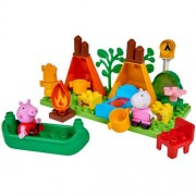 Greta Gris BIG-Bloxx Peppa Camping Set