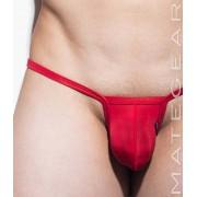 Mategear Shi Woo Ultra Thin Nylon Signature Series II Sexy Mini Bikini Underwear Red 2061206