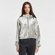 Nike essential velour fz hoodie Dark Stucco