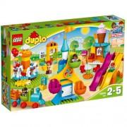 Set de constructie LEGO Duplo Parc Mare de Distractii