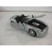 Dodge Viper SRT 10 In Silver Diecast 1:24 Scale By Maisto