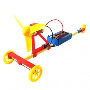 Magideal Electric Air Powered Racing Car DIY Assembly Toy Kit