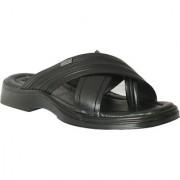 Action Shoe MenS Black Casual Slip On Sandals