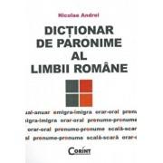 Dictionar de paronime al limbii romane/Nicolae Andrei