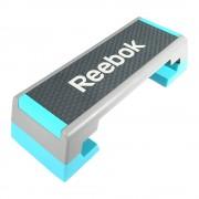 Reebok step pad - Edzőtermi Reebok szteppad szürke - cián színben