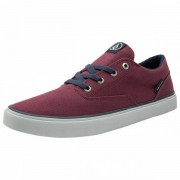 Volcom - Draw LO Shoe - Baskets taille 45, violet/rouge