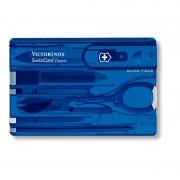 SwissCard Victorinox Albastru Transparent