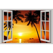 Sunset - Fereastra 3D