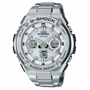 casio g-shock GST-S110D-7A resina de cuarzo y reloj casual de acero inoxidable - plata