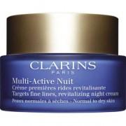 CLARINS MULTI-ACTIVE CREMA NOCHE 50 ML PIELES NORMALES/SECAS