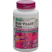 Natures Plus Red Yeast Rice Tabletten ER, 600 mg, 60 Tabletten
