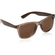 Flying Machine Round Sunglasses(Brown)