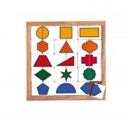 Puzzle pentru gradinita Forme de sortare Educo, dezvolta abilitati de asociere