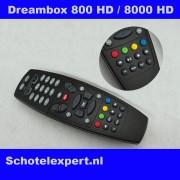 Dreambox Afstandsbediening DM800 & 8000HD, DM500HD