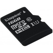 Memorija micro SD 16GB Kingston Class 10, UHS-I 45MB/s, SDC10G2/16GBSP-