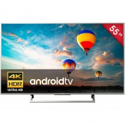 "Televisión Sony XBR-55X800E 4K HDR Android TV UHD 55""-Plata"